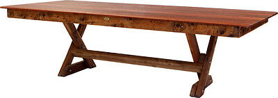 OUTDOOR FURNITURE New Timber Outdoor Table (orders only)