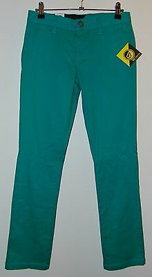 Bnwt * Volcom Youth Size 14 * Chino Jeans Pants Boys Unisex Girls * Rrp $59.99