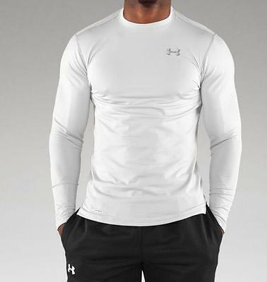 Under Armour Mens Coldgear Evo Fitted Mock Base Layer, Size Options 1215484
