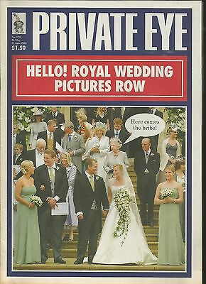 Private Eye Mag # 1211  30 May 2008  Peter Phillips  Autumn Kelly  Royal Wedding