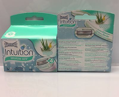 12x WILKINSON INTUITION NATURALS SENSITIVE CARE RASIERKLINGEN NEU