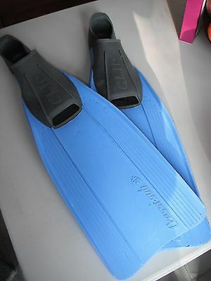 Snorkelling diving flipppers fins - size 10-11
