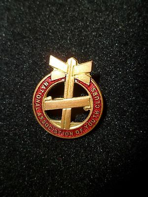 National Association Of Youth Clubs Badge