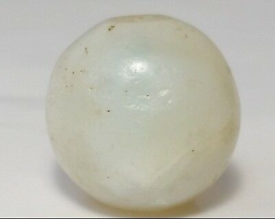 16.7mm ANCIENT RARE BANDED WESTERN ASIAN AGATE BEAD