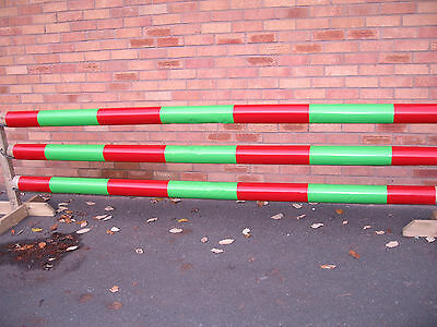 Equestrian Horse Jump Pole Sleeve Covers, Strong Pvc, Many Colours, 3 Mt, X 3,