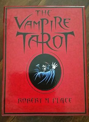 The Vampire Tarot by Robert M. Place ~ complete box set of tarot cards and book