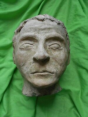 vintage terracotta/stone classical style male bust