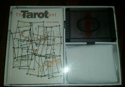 The Transparent Tarot by Emily Carding complete boxed set of cards, book & cloth