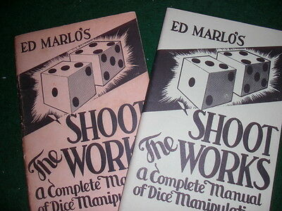 Ed Marlo's Shoot the Works - First Edition & 6th Printing