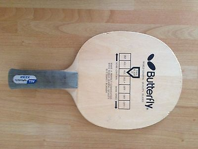 Rare Butterfly x star table tennis blade(old style,made in japan)