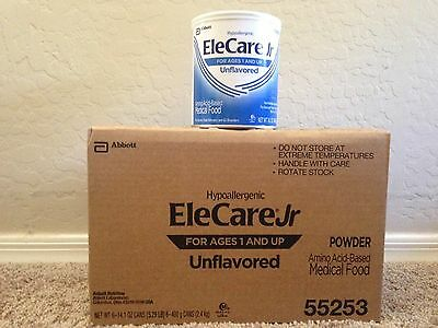 * # * 3 cases of Elecare Jr. Unflavored powder (18 cans) * # *