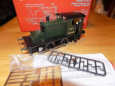 Ixion Fowler Gwr O-4-0 Diesel Mechanical O Gauge Loco  Boxed