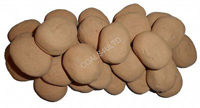 10 New Beige Gas Fire Replacements/stones/pebbles Gas Fire Rcf Replacement