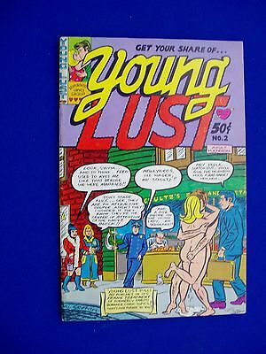 Young Lust 2: Underground comic classic 1971. 1st printing. rare.  VFN.