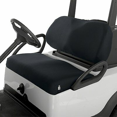 CLASSIC ACCESSORIES FAIRWAY GOLF CART Mesh Bench Seat Cover BLACK Golf Buggy NEW