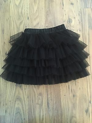 Once Wore Little Girls Black Tutu Age 4