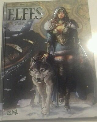 Elfes Tome 7 Le Crystal des Elfes Sylvains TBE EO VF
