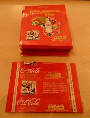 Panini World Cup 2010 Coca Cola Columbia Limited Edition sealed packets x 20