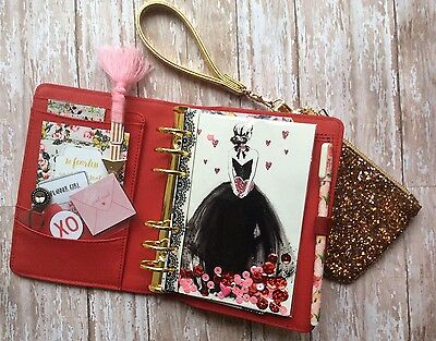 Kikki K Saffiano Red Limited Edition Kit - Planner Society Accessories