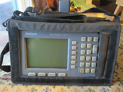 Anritsu Site Master Model S331B Cable and Antenna Analyzer w/ Case. SiteMaster