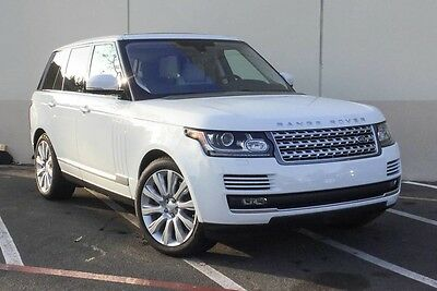 2016 Land Rover Range Rover HSE 2016 Range Rover Supercharged V-8