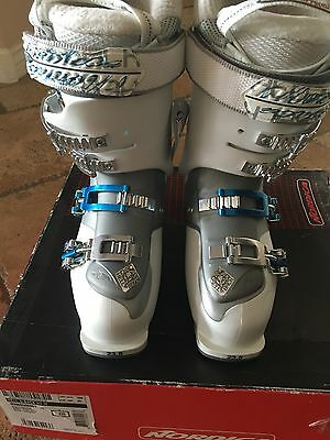 Nordica Hell and Back H3W Ski Boots Women's Size 6.5 (23.5)