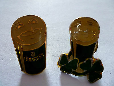 Two Guinness Pin Badges