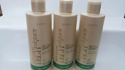 Avon~ADVANCE TECHNIQUES~Daily Shine~ Leave In Conditioner MULTI SHINE  x 3 Lots