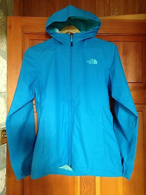 BNWOT The North Face Ladies WATERPROOF Jacket Bright Blue Size S 8-10