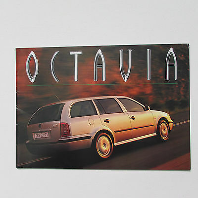 Skoda Octavia Estate Brochure (1998)