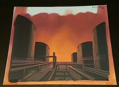 Giant robo original production animation book cel cels cellulo celluloid