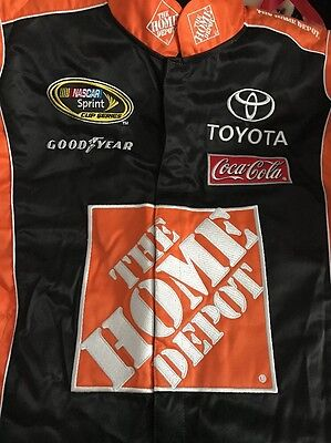 NASCAR Car Racing Jacket Chase Authentics - Joe Gibbs Racing