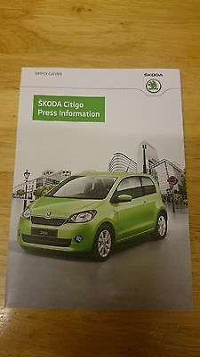 2012 Skoda Citigo Press Kit Brochure