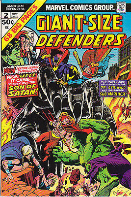 The DEFENDERS Giant-Size no. 2