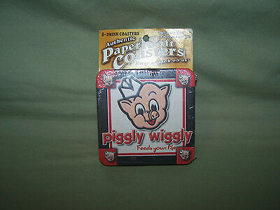 Piggly Wiggly Paper Coasters New in Original Package