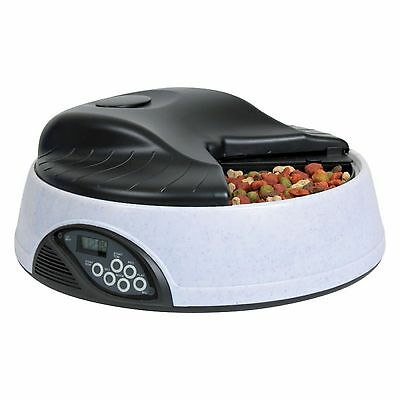 Trixie Automatic Pet Feeder Bowl Cats Dispenser Dogs Cat Dispensing Food Timer