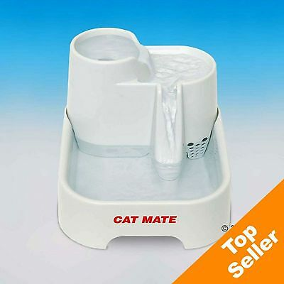 Cat Mate Pet Fountain Charcoal Filter Cats Dogs Pets Water Drinking Oxygen Fresh