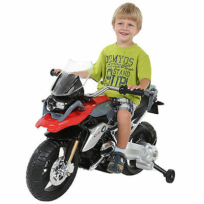 6V BMW R1200 GS Motocycle Ride Realistic Electric Licensed Parental Control Bike