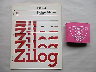 Zilog Mcz-1/05 Hardware Reference Manual