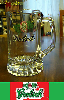 Grolsch Glass Beer Mug  5Inch Tall