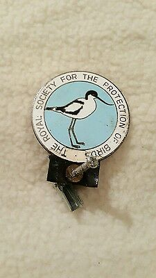 The royal society for the protection of bird badge