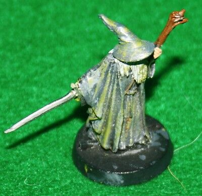 Lord of the Rings Pewter Miniature Gandalf at the Bridge