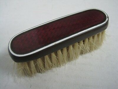 Antique small brush enamelled metal IC brand