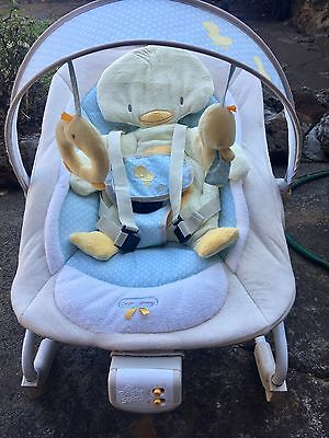 Bright Starts Comfort & Harmony Duckling Bouncer