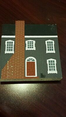 Cats Meow Bennington Jull House 1986 Series IV Signed Faline '90