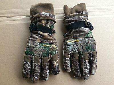 New Pair Camp Gloves,realtree Ap Camo Hunting Gloves Large/ Xlarge