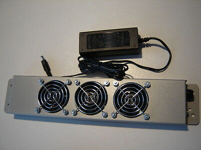 3 Fan (50-52mm)) Rack  / panel mount Cooling for computer electronic equipment