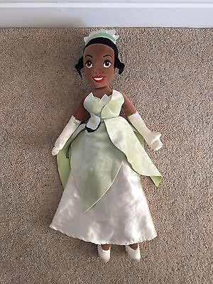 Disney Store Princess Tiana The Princess And The Frog Plush Doll