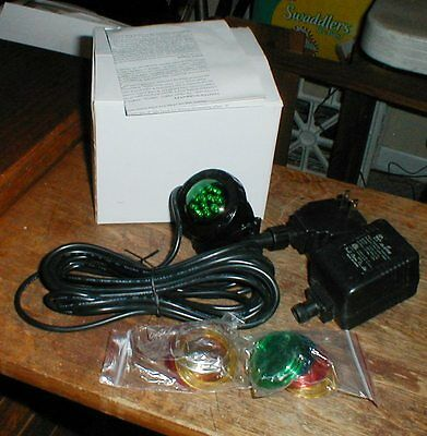 Jebao PL1LED Under Water Submersible Pond LED Light With Colored Lenses