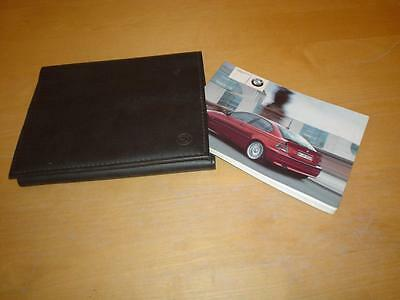 BMW 3 SERIES E46 COMPACT 316 318 320 325 ti td Owners Handbook Manual Wallet